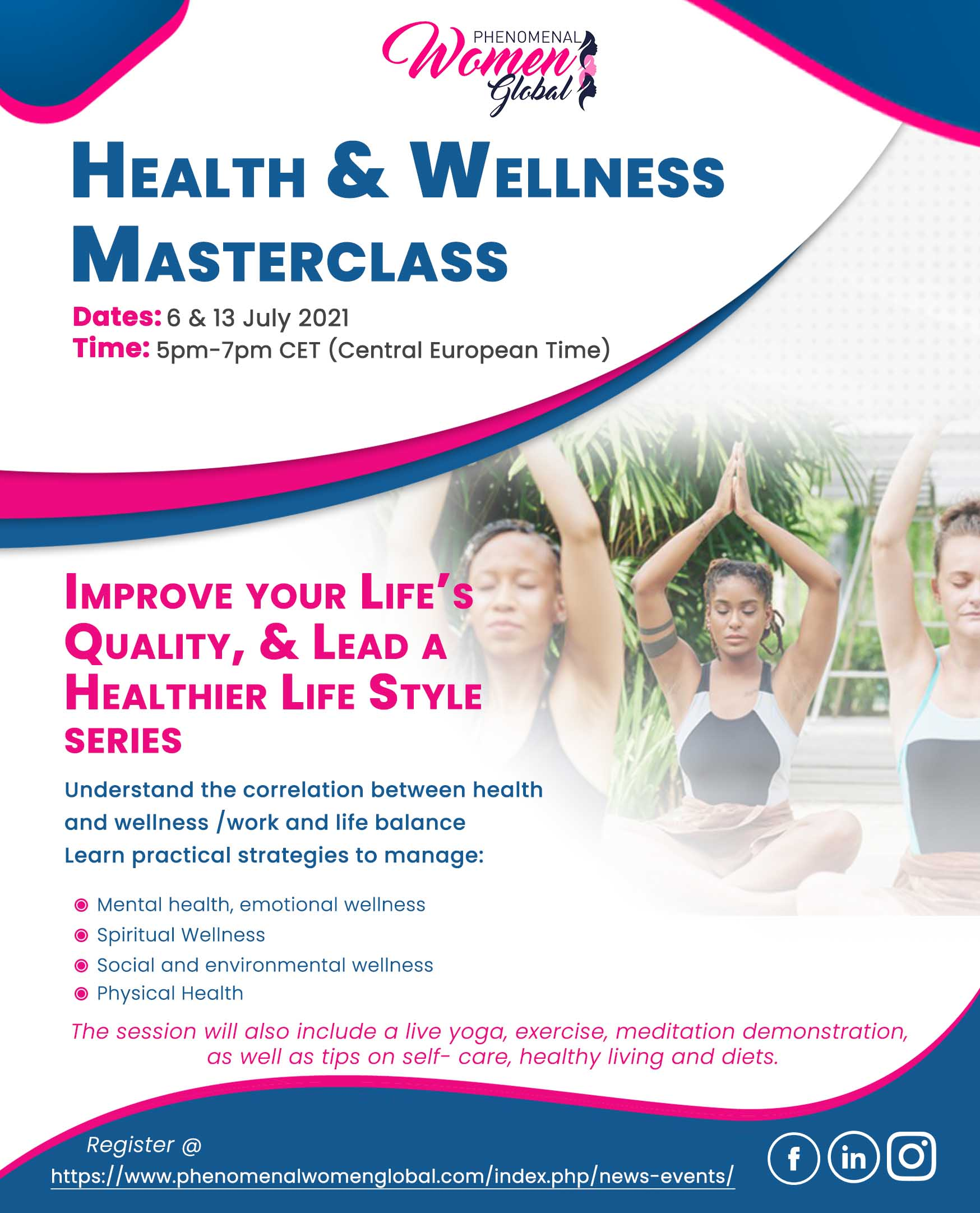 Health & Wellness Masterclass
